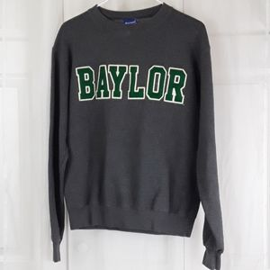 Baylor sz S gray sweat shirt
